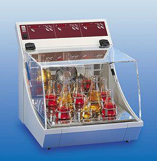 Flask laboratory incubator shaker 8 °C ... 70 °C, 46 L, 10 - 250 rpm | 3031 GFL Gesellschaft für Labortechnik