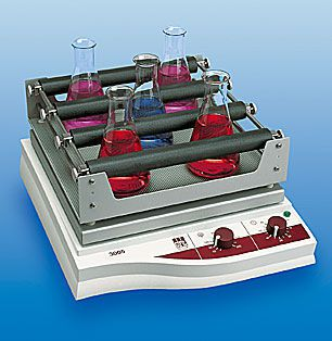 Laboratory shaker / orbital / compact / analog 20 - 500 rpm | 3005 GFL Gesellschaft für Labortechnik