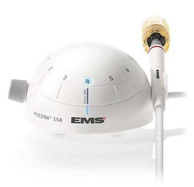 Ultrasonic dental scaler / complete set / with LED light Piezon® 150 EMS Electro Medical Systems
