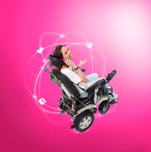 Electric wheelchair / interior / exterior Puma 40 Handicare
