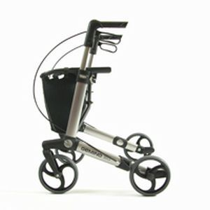 4-caster rollator / folding / height-adjustable Gemino 30 S Handicare