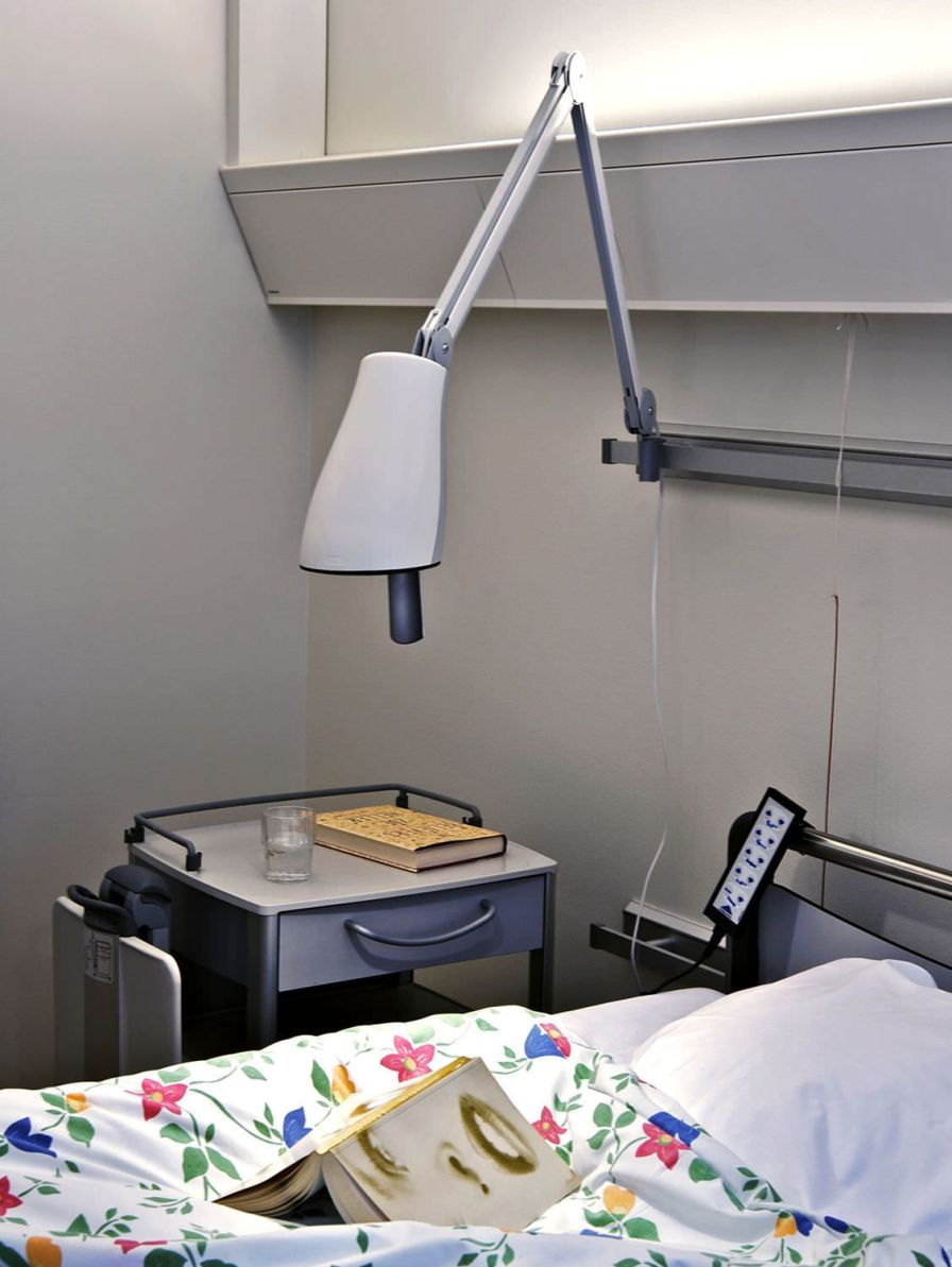 Healthcare facility lighting Carelite Glamox Luxo