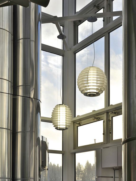 Ceiling-mounted lighting / for healthcare facilities Oulo Glamox Luxo