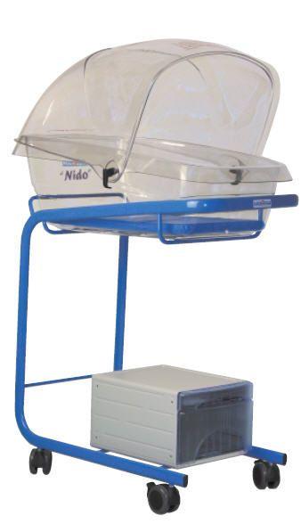 Transparent hospital baby bassinet Nido Ginevri