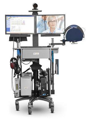 Telemedicine cart i8500 GlobalMed