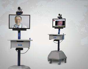 Telemedicine cart LiteExam™ GlobalMed