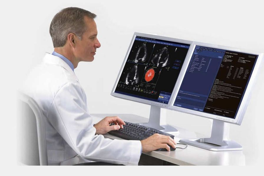 Analysis software / cardiovascular / for ultrasound imaging / medical Image Vault GE Healthcare