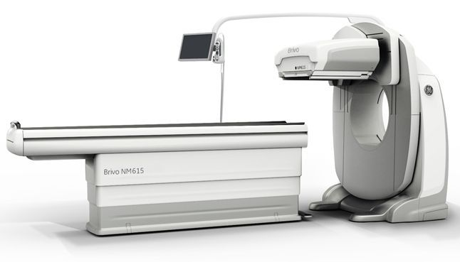 SPECT Gamma camera (tomography) / for SPECT full body / standard diameter Brivo™ NM615 GE Healthcare