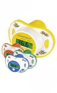 Medical thermometer / pediatric / electronic / pacifier type daisy color Geratherm