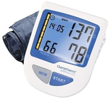 Automatic blood pressure monitor / electronic / arm / with USB port desktop 2.0 Geratherm