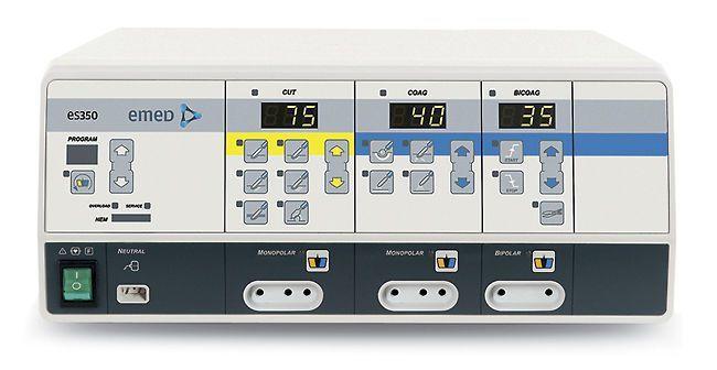 Monopolar cutting HF electrosurgical unit / bipolar coagulation / bipolar cutting / monopolar coagulation 333 kHz | es 350 EMED