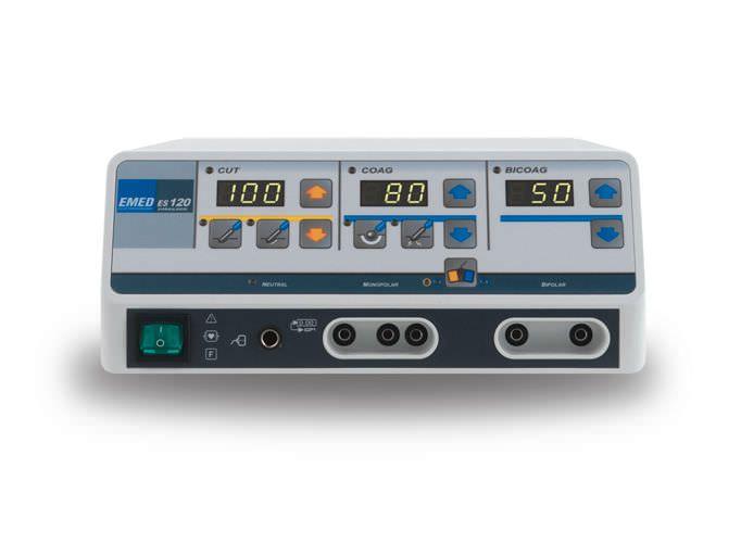 Monopolar coagulation electrosurgical unit / bipolar cutting / monopolar cutting / bipolar coagulation 416 kHz | es 120 EMED