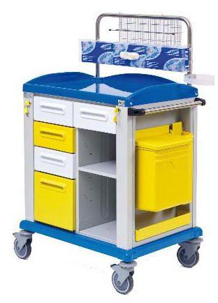 Multi-function trolley / with drawer ANDY-AC54 Gardhen Bilance