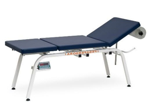 Fixed examination table / 3-section / with weighing scale FRANCIS M, FRANCIS SCALE M Gardhen Bilance