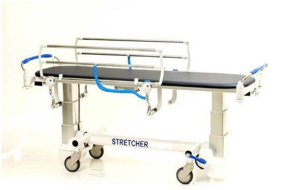 Transport stretcher trolley / mechanical / 1-section Gardhen Bilance
