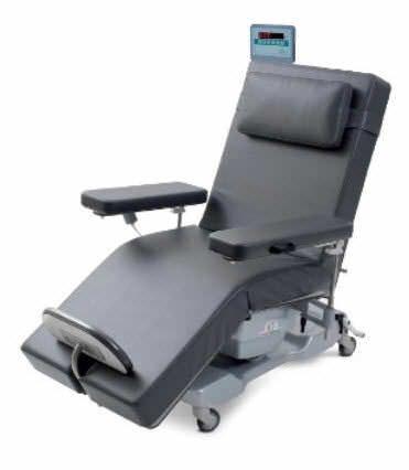 Electrical treatment armchair / on casters / height-adjustable STEPHEN H-YBRID Gardhen Bilance