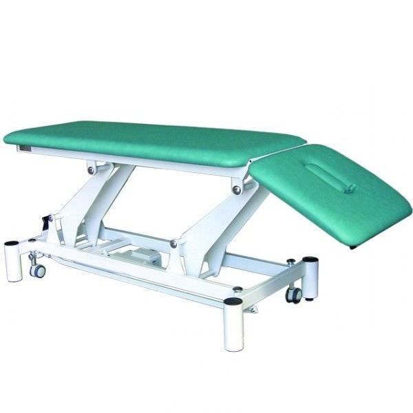 Electrical massage table / on casters / height-adjustable / 2 sections Espace 3170, Espace 3175 Genin Medical