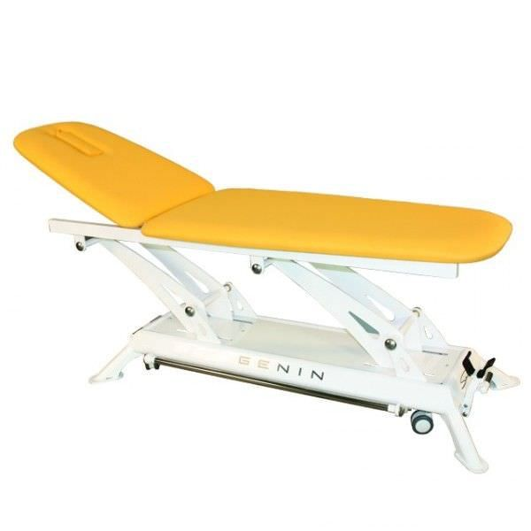 Electrical massage table / height-adjustable / 2 sections Santeo 3275 Genin Medical