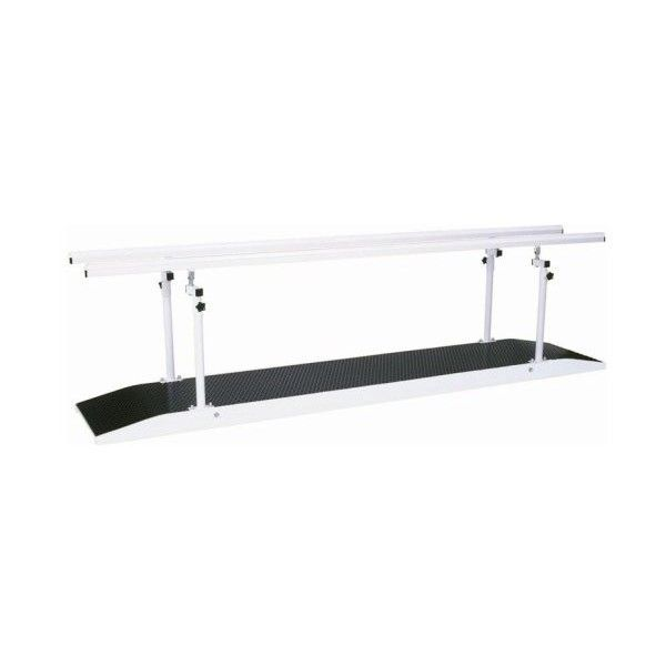 Height-adjustable rehabilitation parallel bars / with base 200 - 600 cm Genin Medical