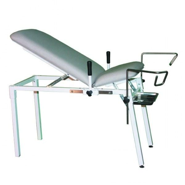 Gynecological examination table / mechanical / fixed / 2-section GT14 Genin Medical