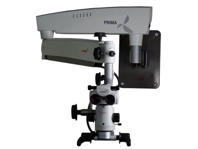 Operating microscope (surgical microscopy) / for dental surgery / mobile / wall-mounted Prima DNT 6138000-060 Breukhoven