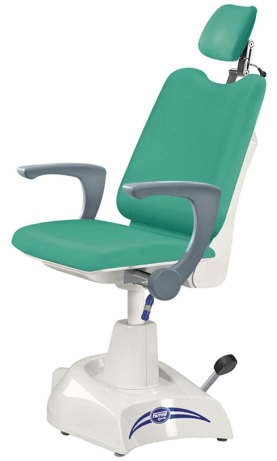 Ophthalmic examination chair / electrical / hydraulic / height-adjustable FL-02, FO-02 Famed ?ywiec sp. z o.o.