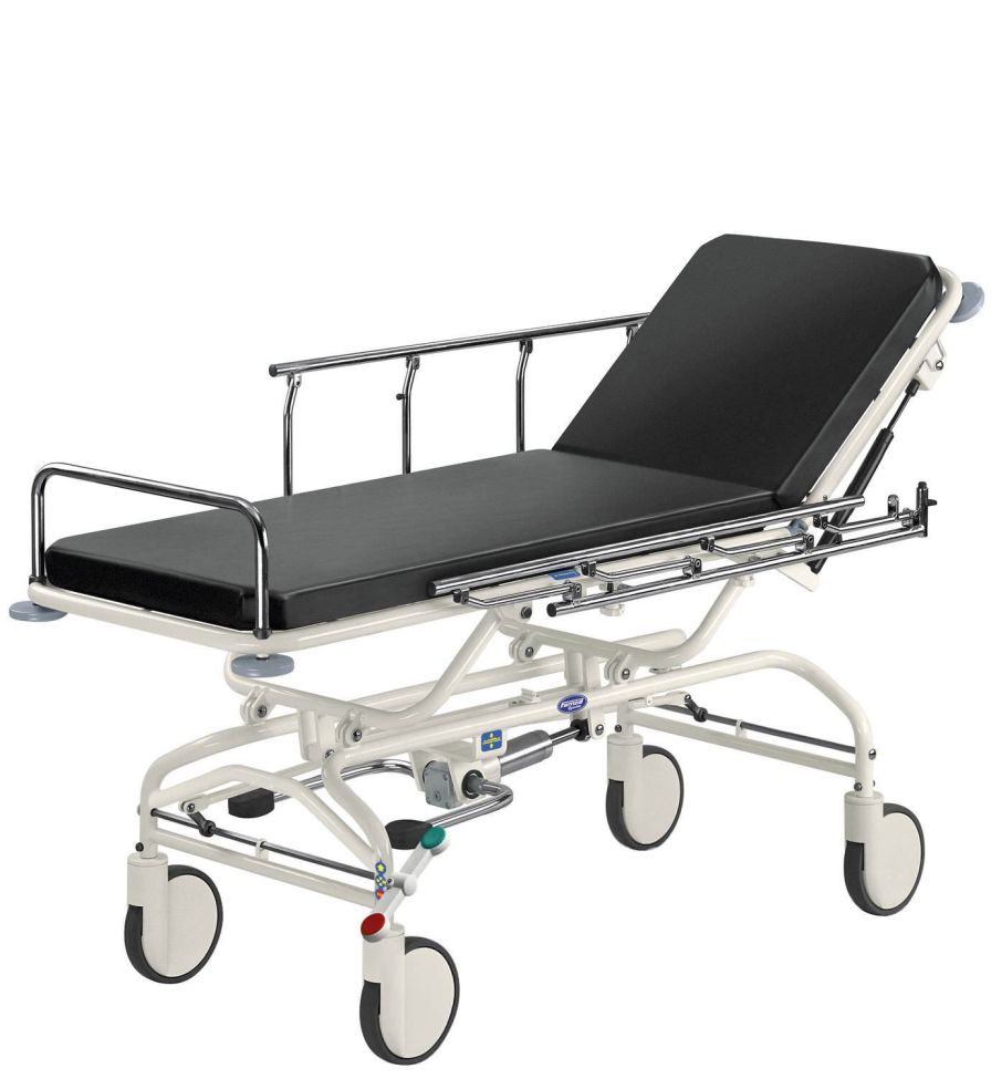 Transport stretcher trolley / transfer / X-ray transparent / height-adjustable WP-03.0 Famed ?ywiec sp. z o.o.