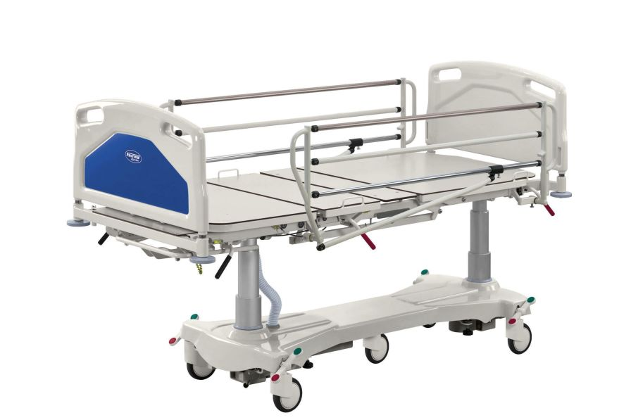 Intensive care bed / electrical / on casters / 4 sections ACENS Famed ?ywiec sp. z o.o.