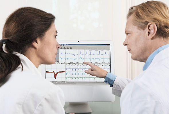 Patient data management system / ECG CardioDay® GETEMED Medizin- und Informationstechnik