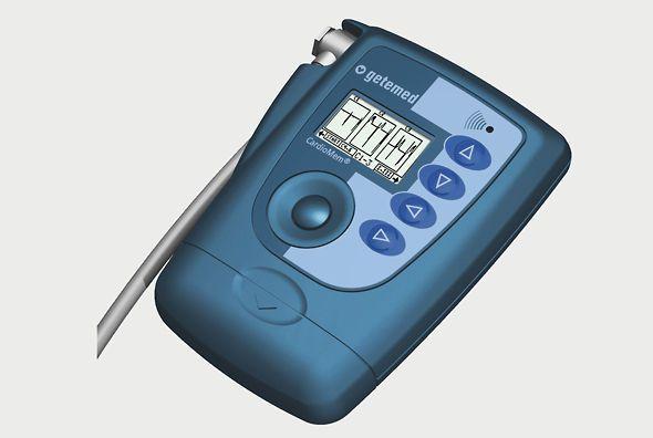 3-channels cardiac Holter monitor CardioMem® CM 3000 GETEMED Medizin- und Informationstechnik