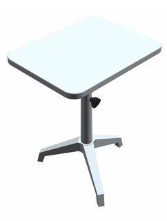 Manual ophthalmic instrument table / height-adjustable 96AB Frastema