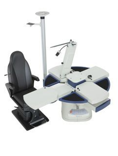 Ophthalmic workstation / with chair / 1-station 65ZA MASTER Frastema