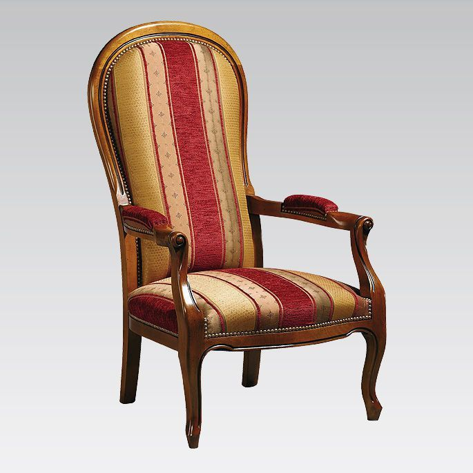 Chair with armrests / with high backrest COLLINET