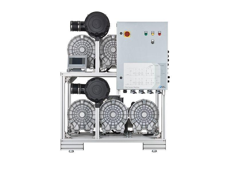 Aspirating central vacuum pump / dental V 18000 DÜRR DENTAL AG