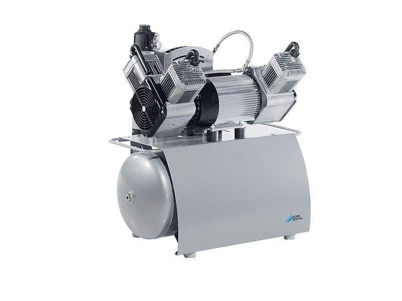 Dental unit compressor / medical / oil-free / 3-workstation Trio DÜRR DENTAL AG