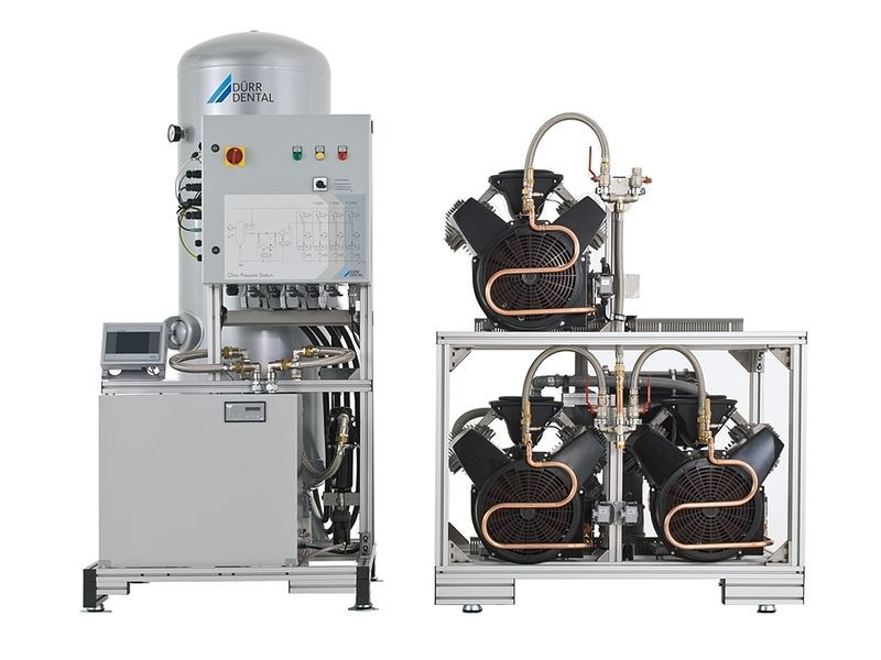 Medical central compressor / for dental units / 30-workstation P 9000 DÜRR DENTAL AG