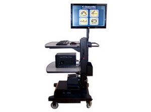 Telemedicine cart GestureTek Health