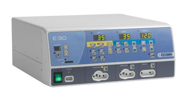 Bipolar coagulation HF electrosurgical unit / monopolar coagulation / bipolar cutting / monopolar cutting E50 Eschmann Equipment