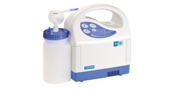 Electric mucus suction pump / handheld / battery-powered VP18 Digital Wall mounted Eschmann Equipment