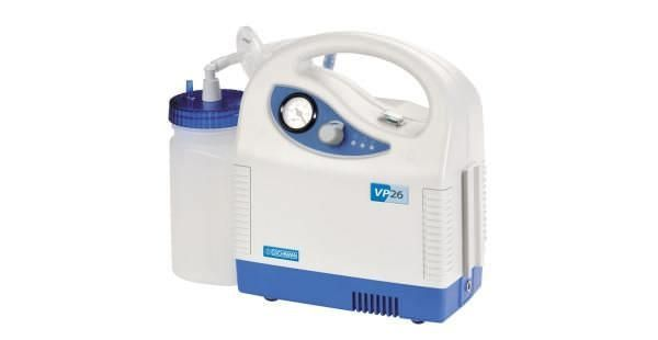 Electric mucus suction pump / handheld / battery-powered VP26 Analogue Eschmann Equipment
