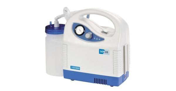 Electric mucus suction pump / handheld / battery-powered VP28 Analogue Eschmann Equipment