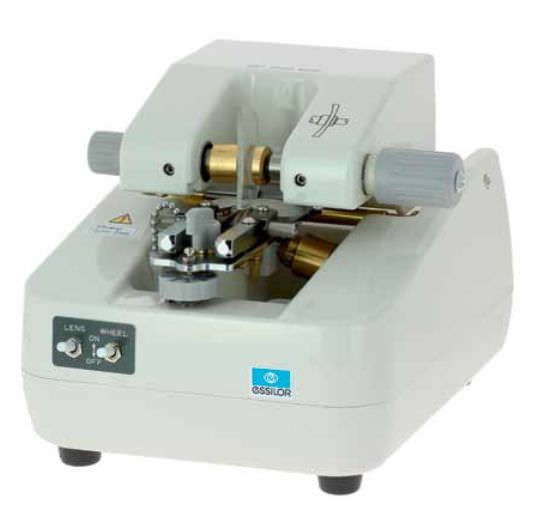 Optical lens groover (optical lens processing) / automatic MRT 700 Essilor instruments