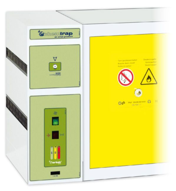 Air filter unit / for security storage cabinets ChemTrap V 201 erlab