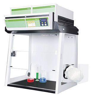 Aspirating fume hood / for powder weighing / laboratory CaptairFlex XLS 392 erlab