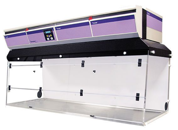 PCR workstation / with hood CaptairBio 712 erlab