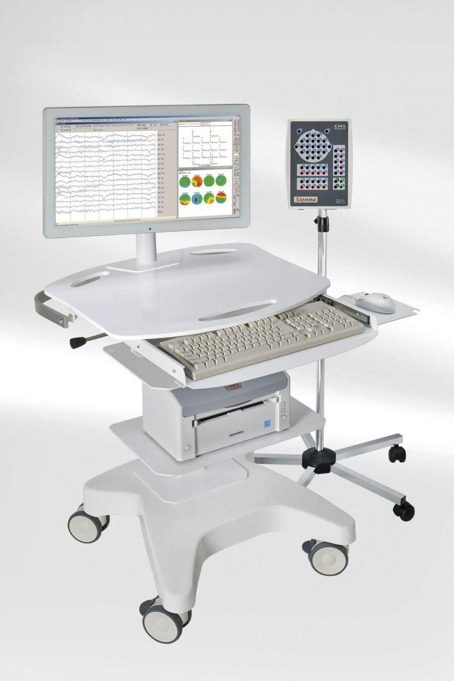 40-channel electroencephalograph Sienna EMS Biomedical