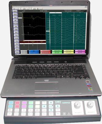 Nerve monitor with nerve stimulator Surpass II / IOM EMS Biomedical