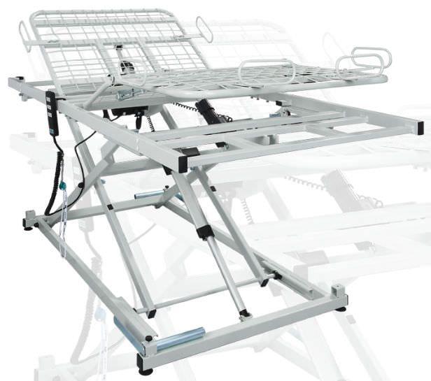 Electrical bed / height-adjustable / 3 sections aks-B4 XL aks - Aktuelle Krankenpflege Systeme