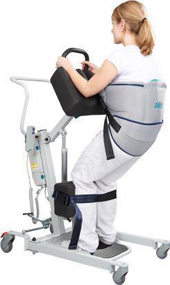 Mobile patient lift / electrical aks-torneo II aks - Aktuelle Krankenpflege Systeme
