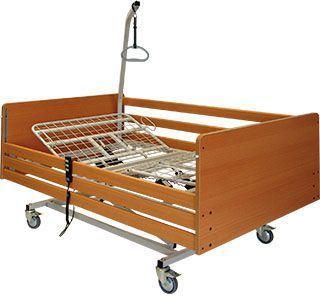 Electrical bed / height-adjustable / 3 sections aks-SB XL aks - Aktuelle Krankenpflege Systeme